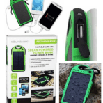 Soundlogic XT Solar Powered 5,000 mAh Rechargeable Power Bank