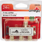 Omega 5-2400MHz 2.4GHz 3-Way High Frequency Splitter