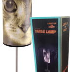 LED Rage Cat Face Table Lamp