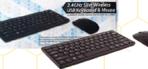 TES 2.4GHZ SLIM WIRELESS USB KEYBOARD & MOUSE SET