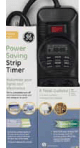 GE 7-DAY 8-Outlet Power Saving Strip Timer