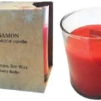 Crackles when lit! Natural Soy Wax Wooden Wick'd Cinnamon 7oz Candle
