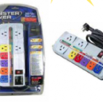 Monster Power 1480 Joule 8-Outlet Surge Protector