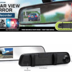 ITEK™ REAR VIEW MIRROR DASHCAM RECORDER