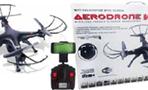 Tech Toyz Aerodrone WiFi Indoor/Outdoor 4Ch Quadcopter with Camera