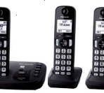 Panasonic Digital Cordless Answering DECT 6.0 System – 3 Handsets