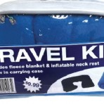 Travel Kit – Includes Blanket, Neck Rest & Carrying Case