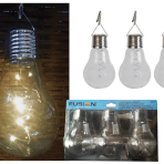 Fusion 3PK Solar Edison Bulbs with Hanging Clip