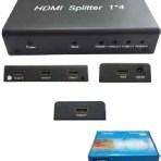1X4 HDMI SPLITTER