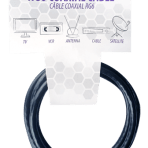6'/1.8M TES RG6 COAXIAL CABLE