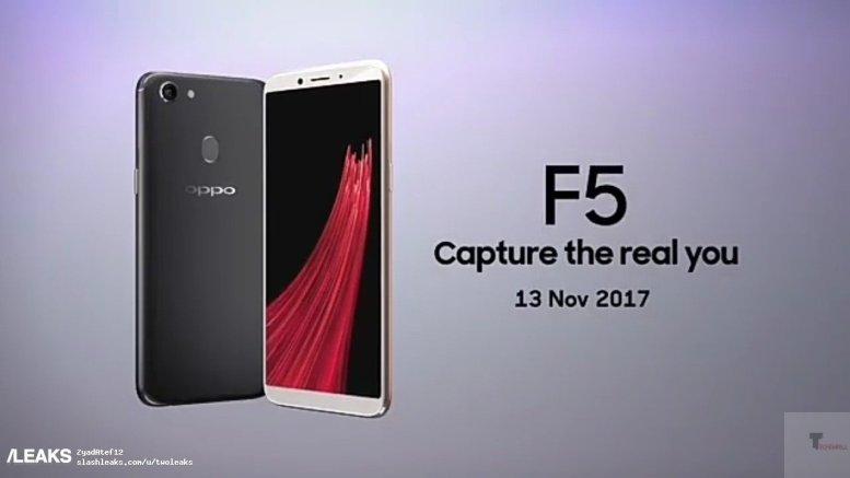 oppo f5 leaks