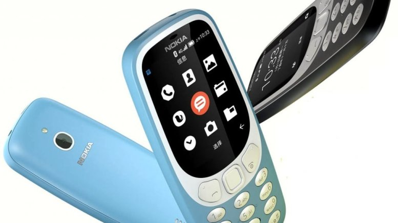 nokia 3310 4G VoLTE