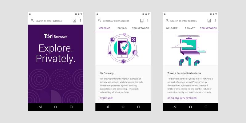 Tor - secure mobile browser