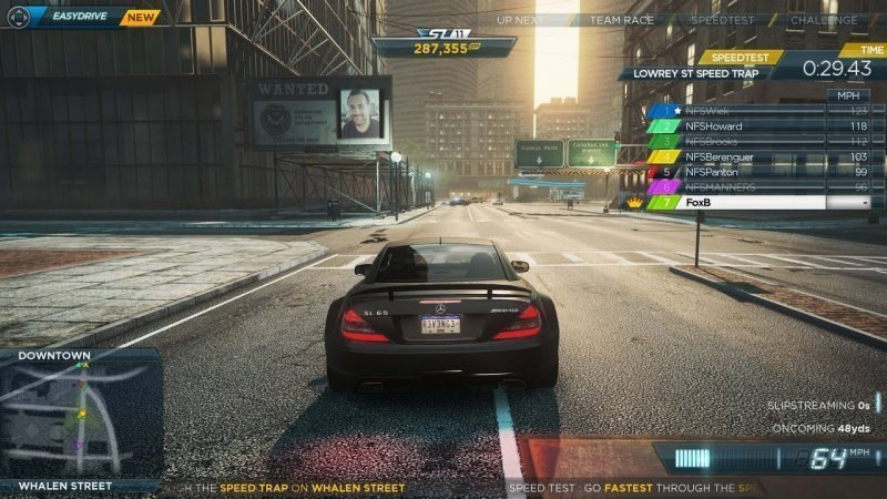 need for speed a new car racing game