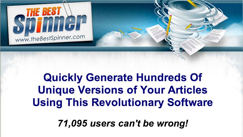 The Best Spinner Software