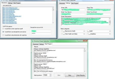 Directory Power Submitter Software