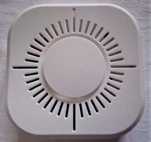 433 MHz smoke detector compatible with Domoticz