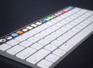 OLED Touchpad magic keyboard