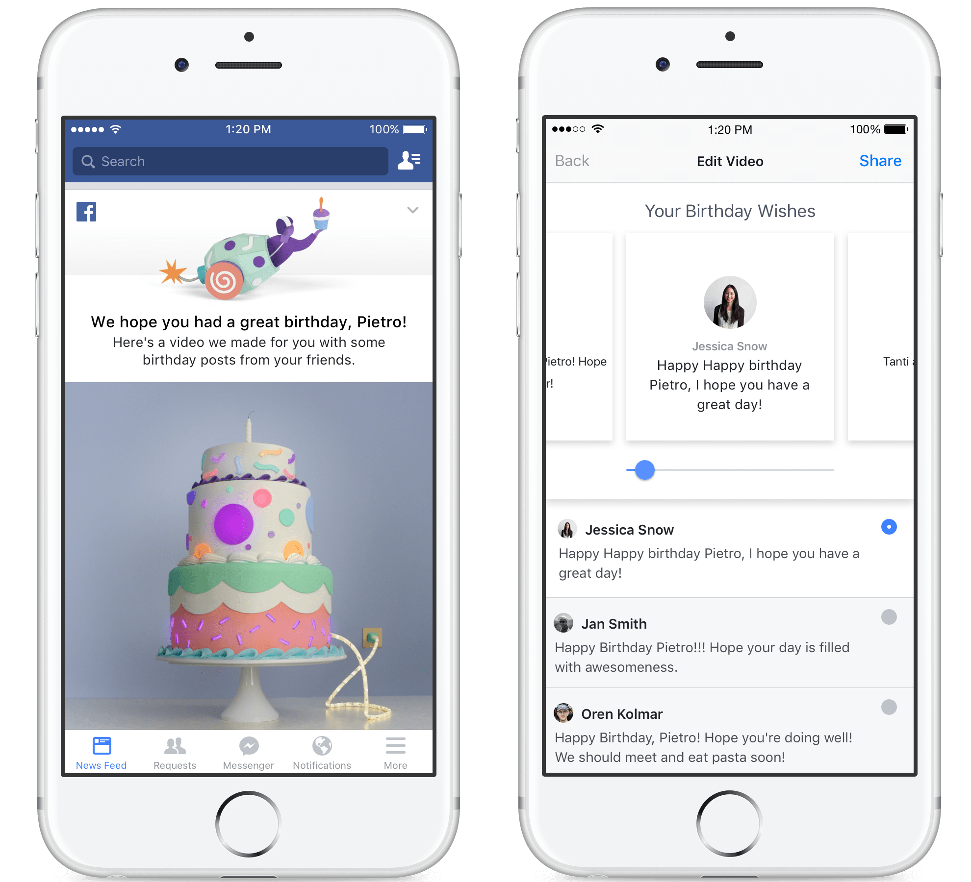 Facebook S New Birthday Recap Video Makes Your Day More Delightful