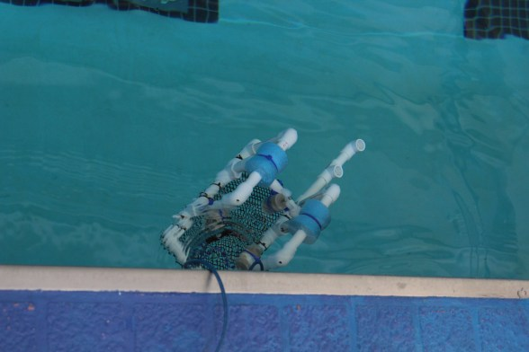 SeaPerch ROVs were put together by K-12 students
