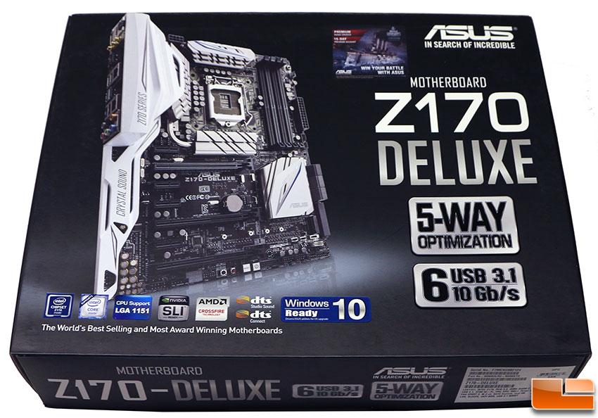 Asus Z170 Deluxe