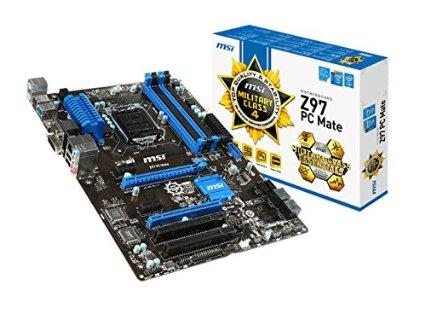 MSI ATX 2400 LGA 1150 Z97 PC MATE