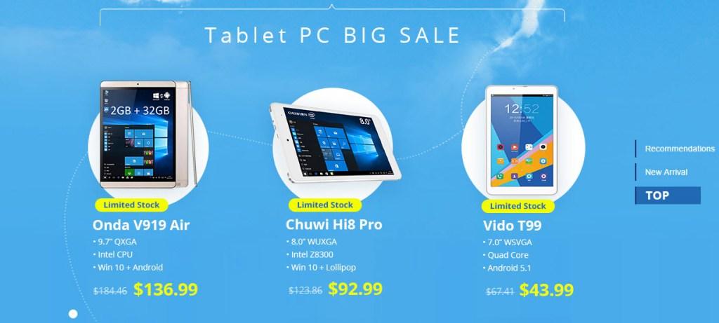 Tablet Flash Sale