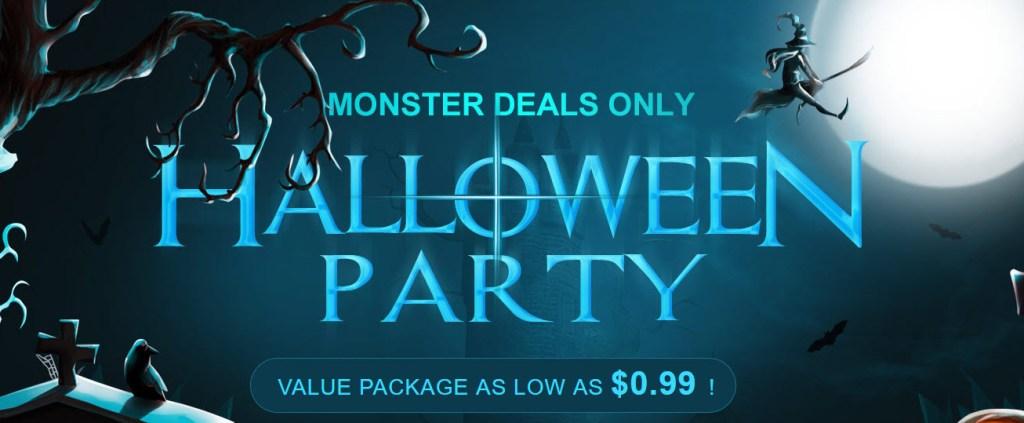 Gearbest Halloween Party Offers