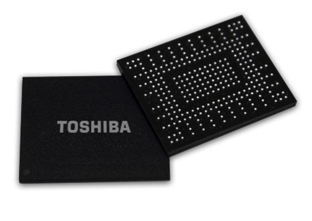 東芝發表BGA SSD:512G​​B TLC Flash、NVMe 1.2