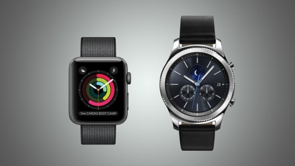 Apple Watch Series 2和三星Gear S3規格參數對比