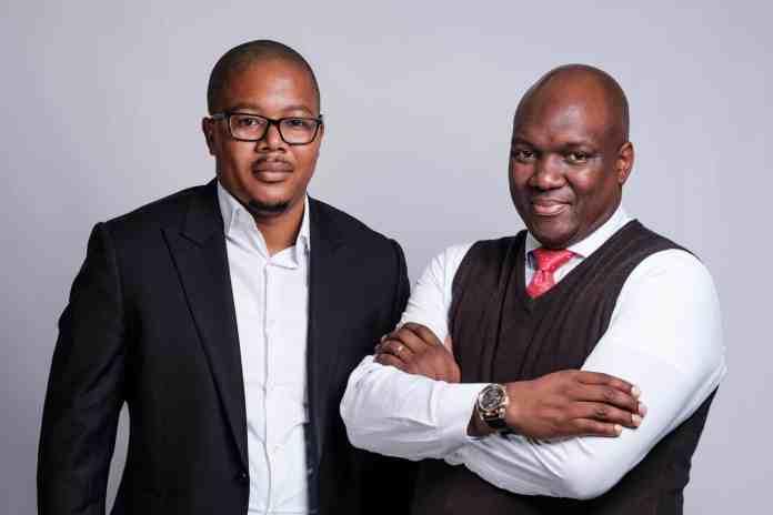Founders of Zande Africa Siya Ntutela (CEO) and Mdu Thabethe (COO)