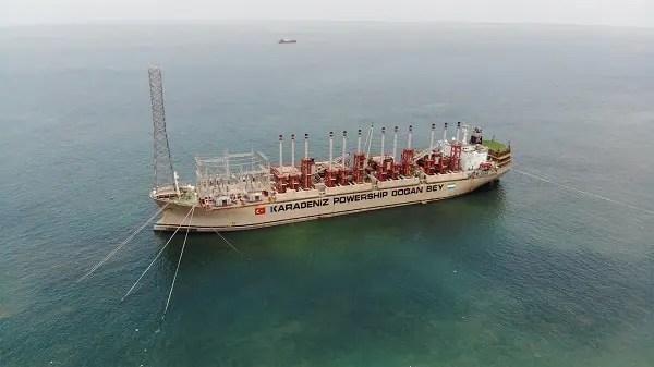 Turkish company Karpowership