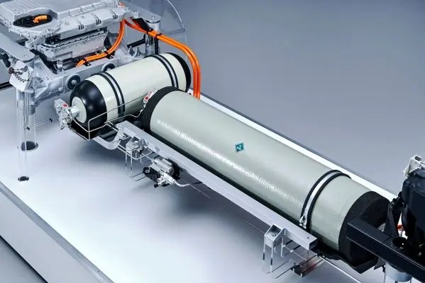 The powertrain for the BMW i Hydrogen NEXT