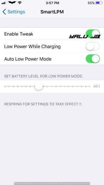 SmartLPM – Intelligent Low Power Mode for iPhone