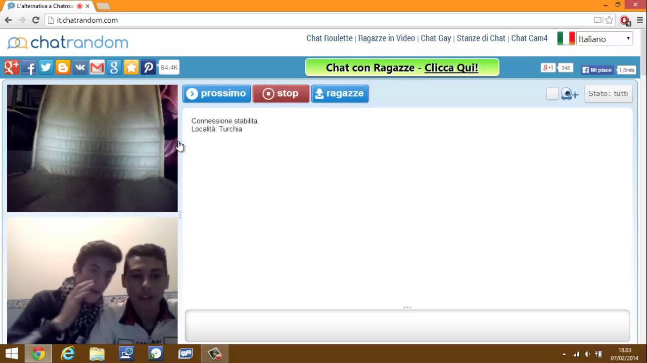 Gay chat video chat