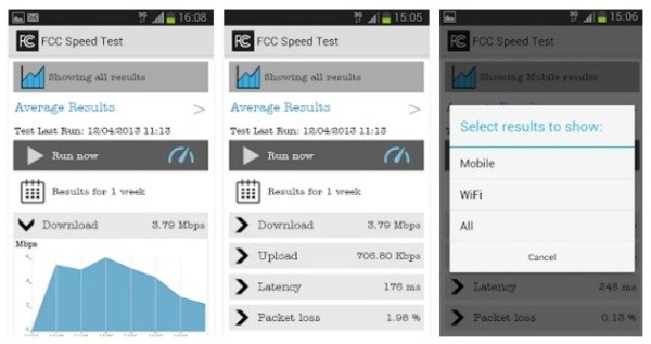 Speed Test App for Android