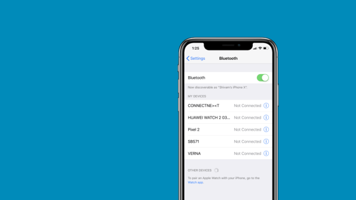 Bluetooth Not Working in iOS 12