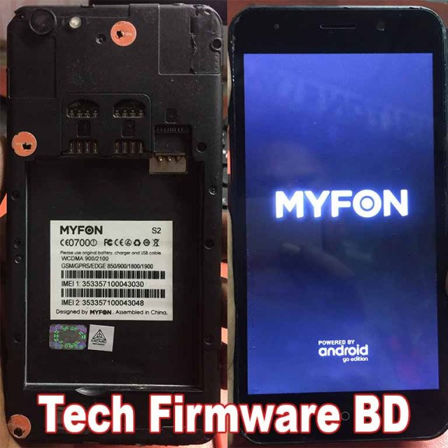 MYFON S2 Flash File