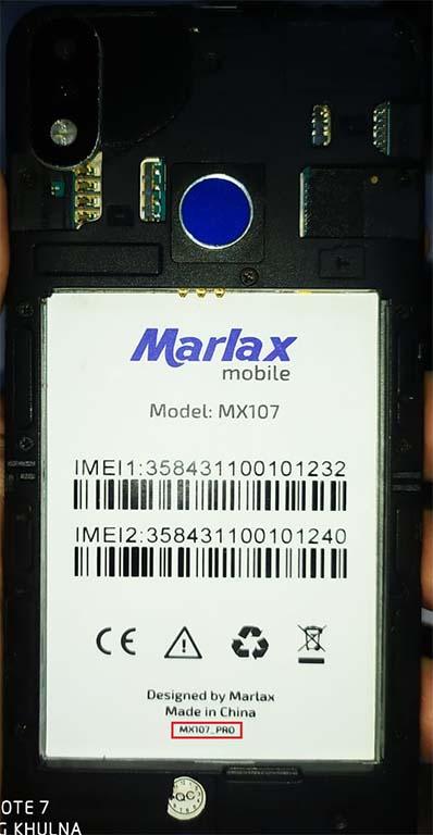 Marlax MX107