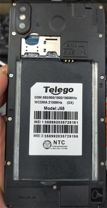 Telego J58 Flash File