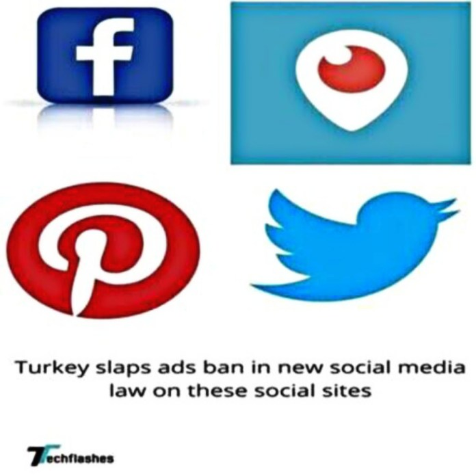 Turkey slaps ads ban in new social media law on these social sites