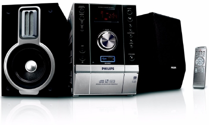 Philips MCM393 Micro Hi-Fi System with USB Direct playback