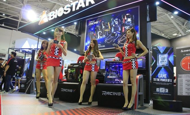 biostar showcase at computex 2017