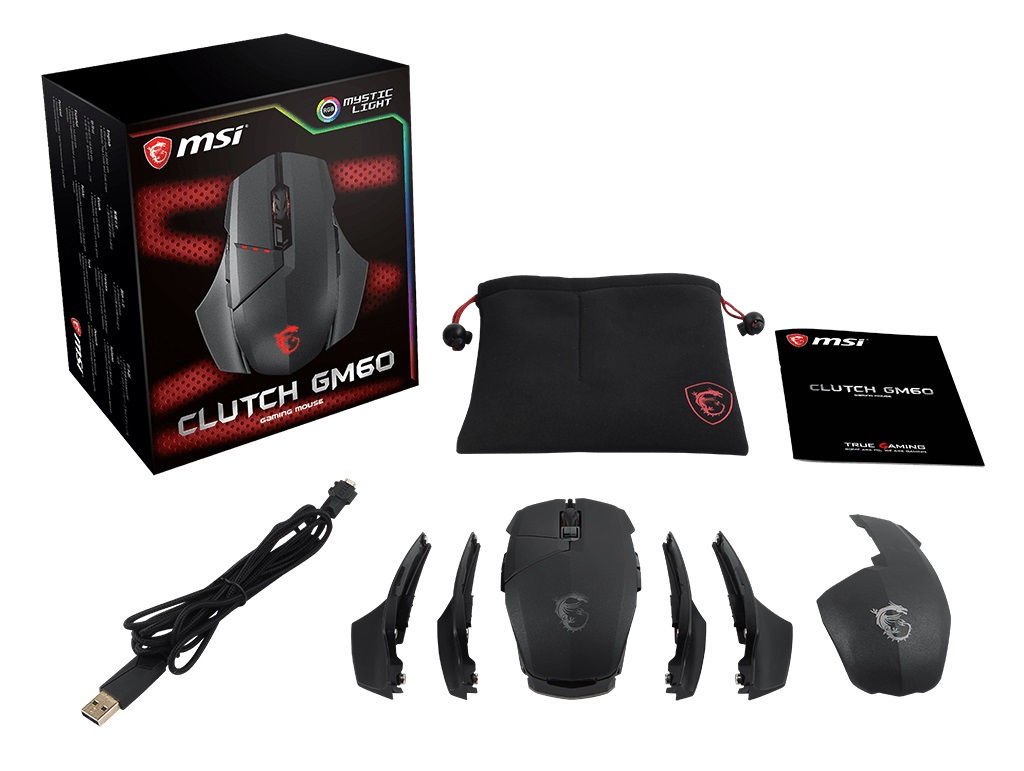 msi gm60 gaming mouse