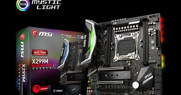 MSI X299M Gaming Carbon AC