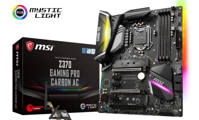 MSI Z370 Gaming Pro Carbon AC