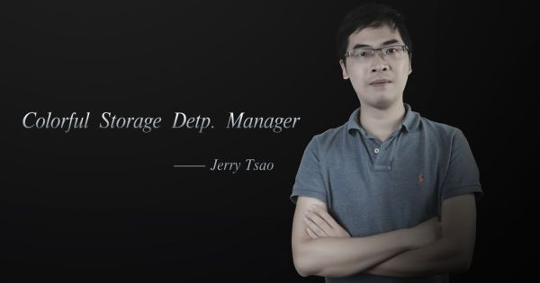 Jerry Tsao Colorful Storage Dept Manager