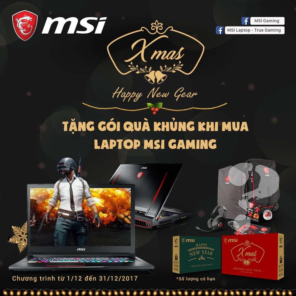 MSI Promote Xmas 2017