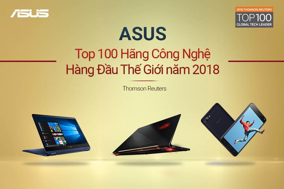 ASUS in TOP 10 Global Tech Leader
