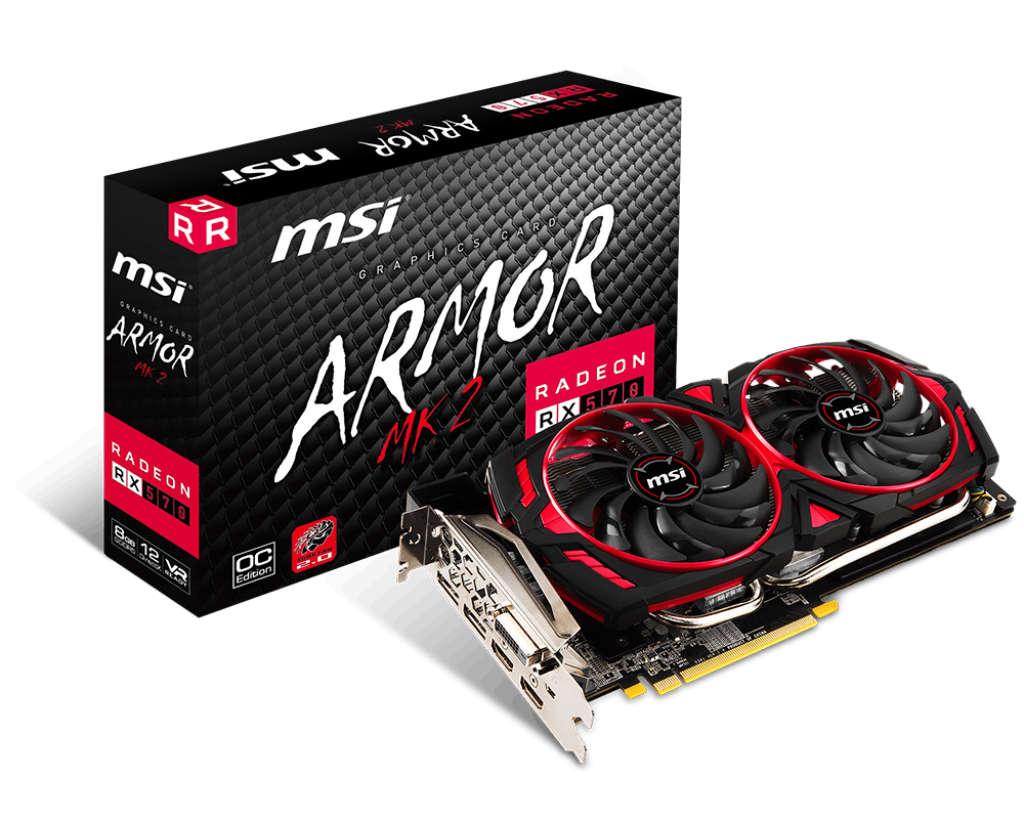 MSI Radeon RX 570 Armor MK2